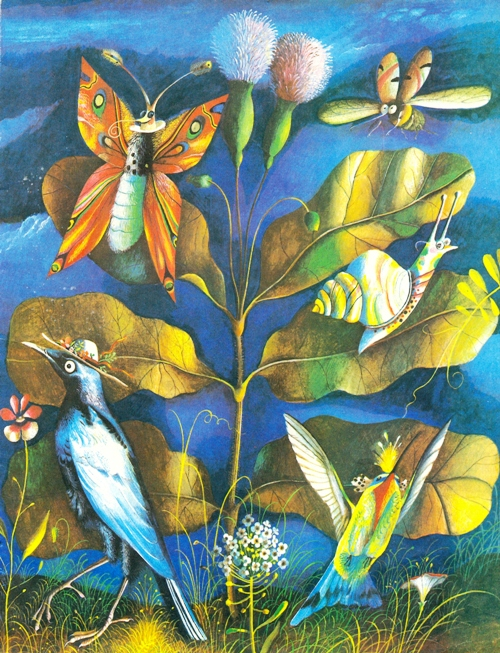 Insects and birds, 1982