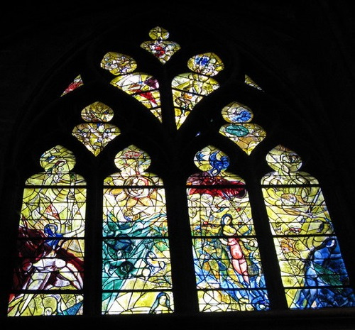 Marc Chagall Stained Glass windows
