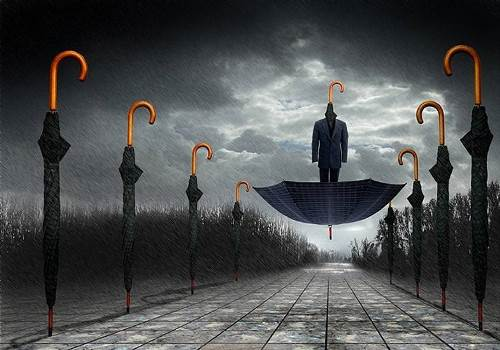 Surreal photo art by Ben Goossens