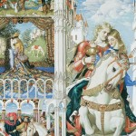 Perceval, the story of the Grail, detail