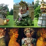 Gallery of Giuseppe Arcimboldo sculptures by Philip Haas