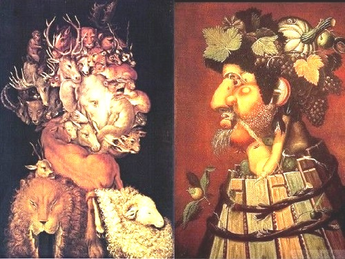 Forgotten genius Giuseppe Arcimboldo. Dialogue of the seasons and the Elements 'Earth - Autumn'