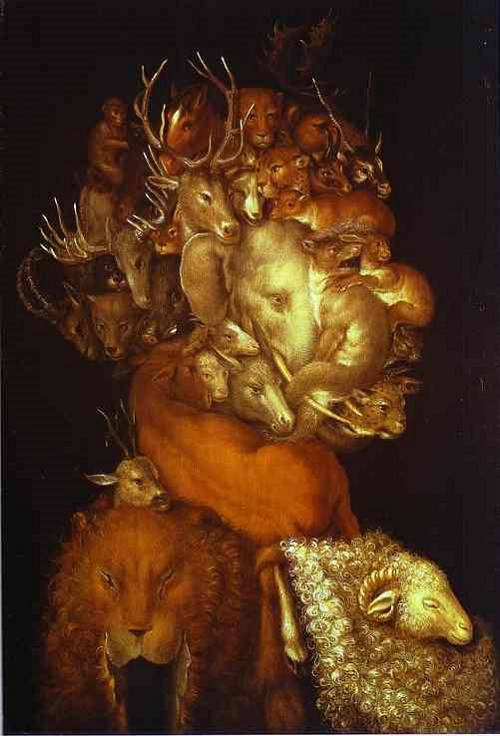 Forgotten genius Giuseppe Arcimboldo. Earth