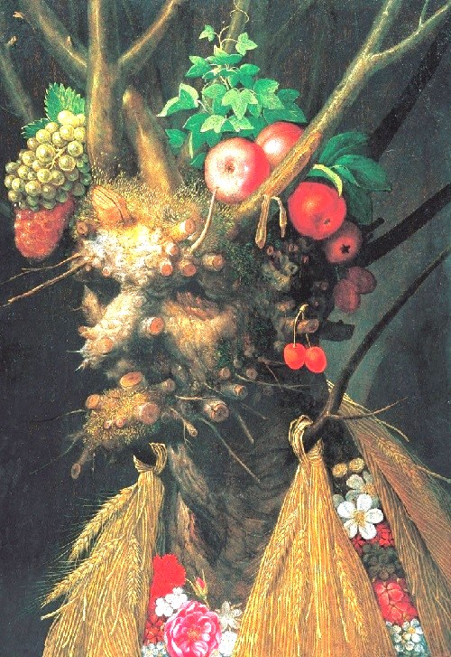 Forgotten genius Giuseppe Arcimboldo. Four Seasons in one portrait