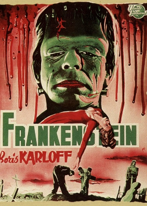 Frankenstein 1931 horror monster film