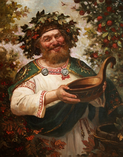 Kvasura - in Slavic mythology - God of wine