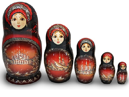 Russian Matryoshka art