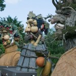 Four Seasons sculpture. Arcimboldo sculptures by Philip Haas