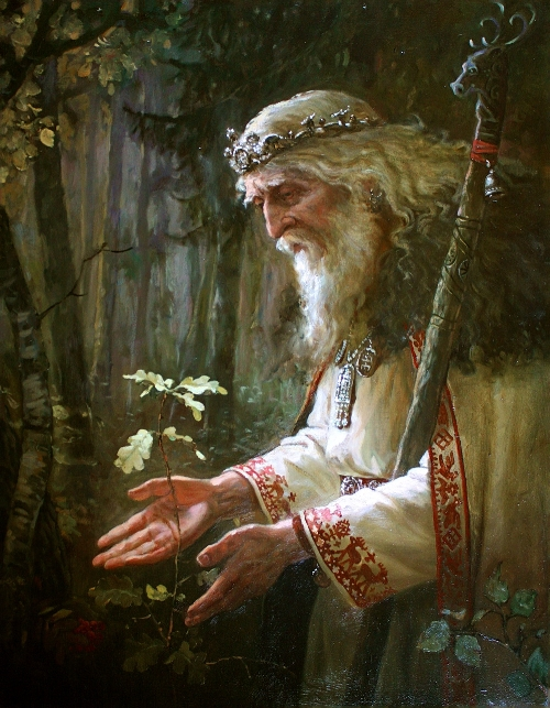 Svyatibor - Slavic God of Forests and woods