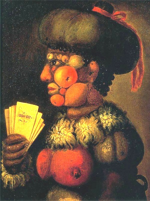 Forgotten genius Giuseppe Arcimboldo. The Lady of Good Taste