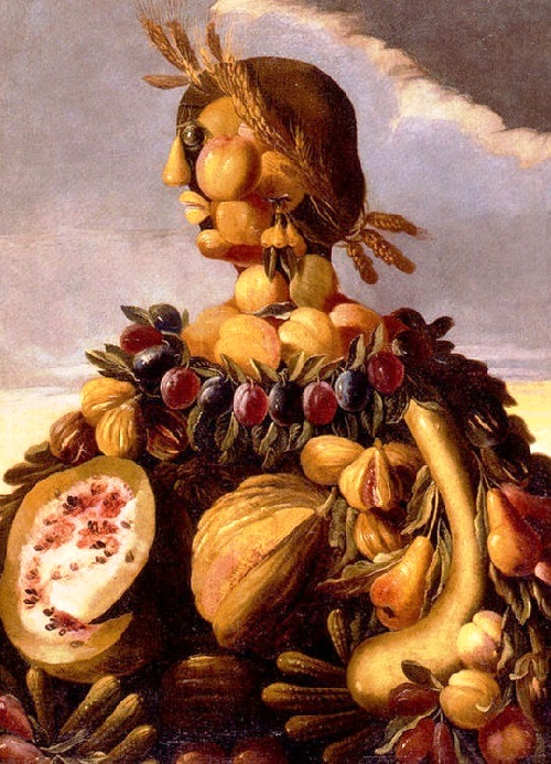 Forgotten genius Giuseppe Arcimboldo. The Seasons