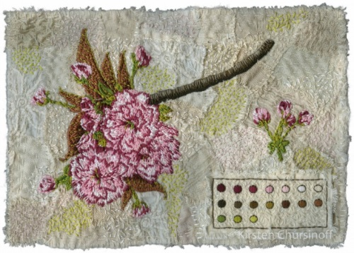 Embroidery by Kirsten Chursinoff