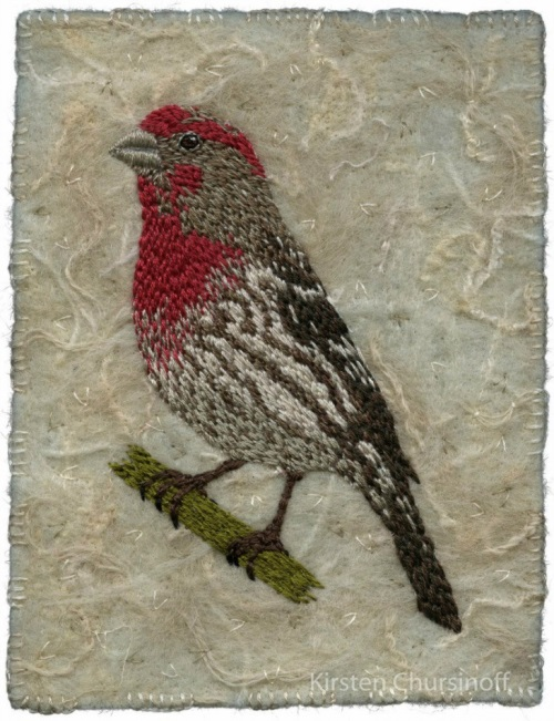 Kirsten Chursinoff embroidery art