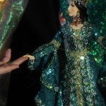 Exquisite handmade doll – Mistress of Copper Mountain. Doll artist Larisa Isayeva