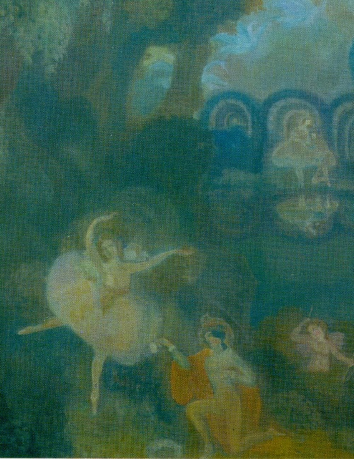 Sergei Sudelkin. The Ballet (detail). 1910. World of Art movement for theater