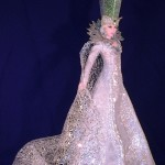 Beautiful Snow Queen. Work by Russian artist of applied art Larisa Isayeva