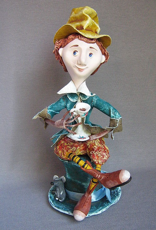 Ceramic doll by Olga Maltseva