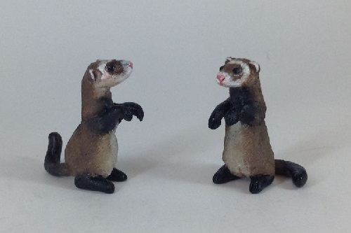 On the works of Richard Bach 'The Chronicles of ferrets'. Victoria Chernysheva miniature toys