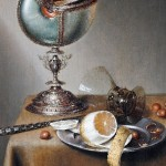 Dutch painter Marten Boelema de Stomme (1611 – 1664). Hallwyl Museum, Stockholm. Still-Life with Nautilus Cup