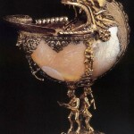 Unknown goldsmith, Netherlandish Nautilus cup 1592 Silver gilt
