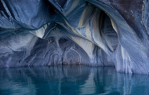 Beautiful geological formations, unearthly landscapes painted by nature