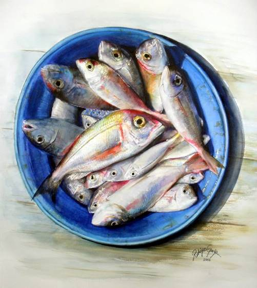 Dish of fish
