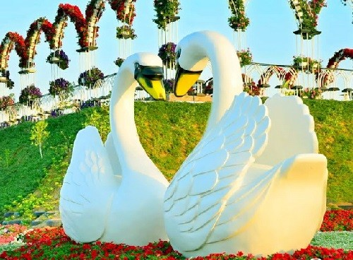 Dubai Miracle Topiary art