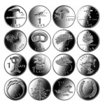 A series of Collectible coins issued by the Bank of Latvia