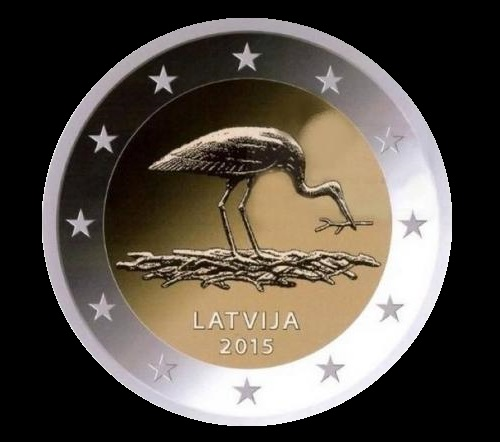 Collectible coins issued by the Bank of Latvia