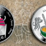 Fairy tale characters – Five cats. Bank of Latvia collectible coins