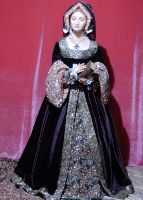 Doll 'Catherine of Aragon' author's work, a single copy. Hand embroidery, Vintage
