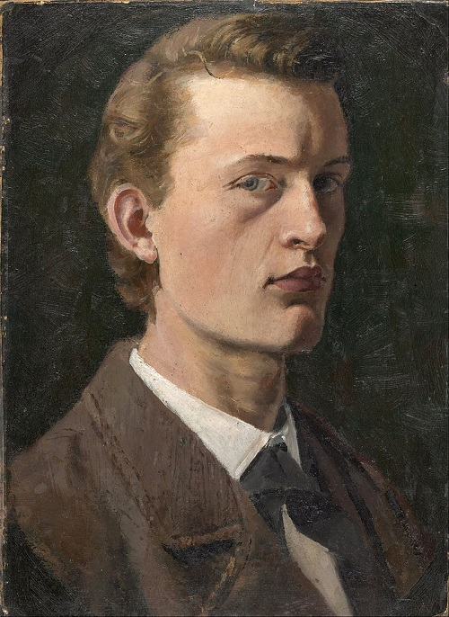 Edvard Munch - Self-Portrait 1882 - Google Art Project