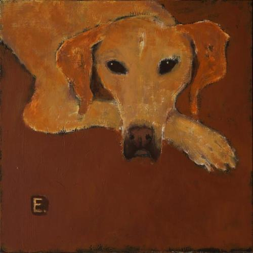 Liloo. Painting by Elena Schumacher