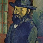 French painter Paul Cezanne, self-portrait 1879-1882