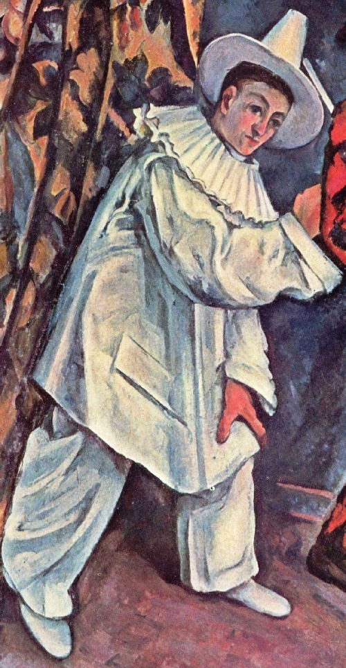 Pierrot. Pierrot and Harlequin by Paul Cezanne