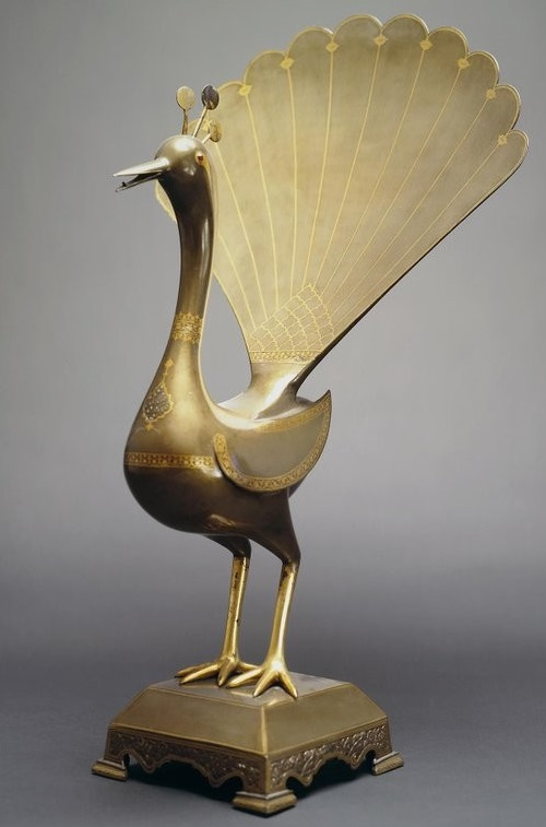 Figure of peacock. Iran. The beginning of XX century