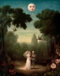 Haunted paintings by Stephen Mackey