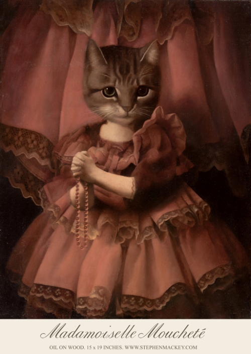 Painting by Manchester based artist Stephen Mackey