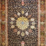 Persian Ardabil Carpet. Victoria & Albert Museum, London. Carpet Making ancient art