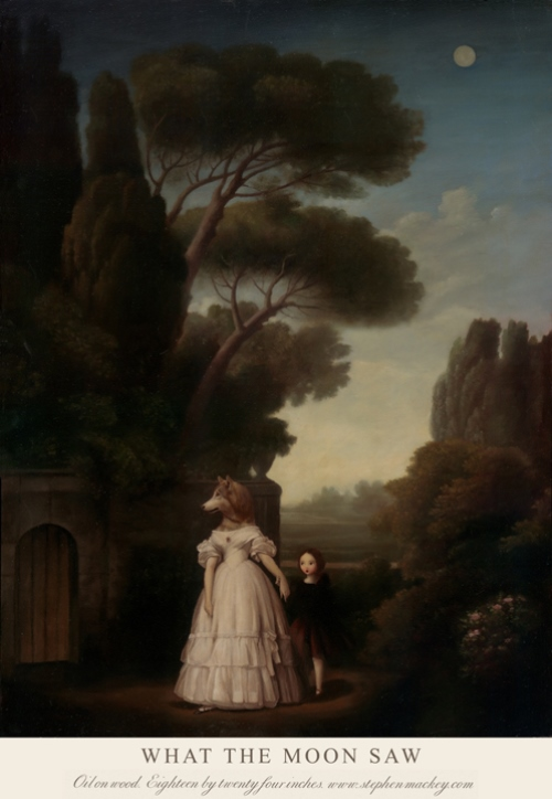 Our Lady Of The Lake >> Haunted paintings by Stephen Mackey - Art Kaleidoscope