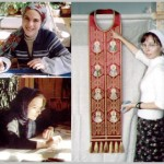 Craftswomen of Gold embroidery workshop Ubrus