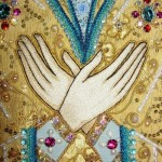 2009 Embroidery. The detail of Godmother Shroud