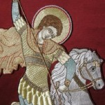 Saint George Khorugv, detail