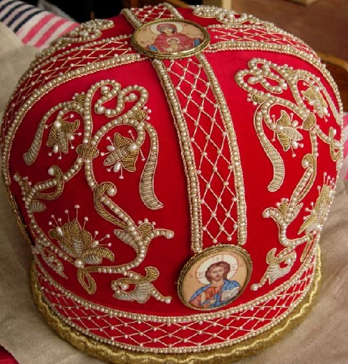 Traditional Orthodox Gold embroidery