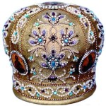 Gorgeous embroidery art. Orthodox mitre