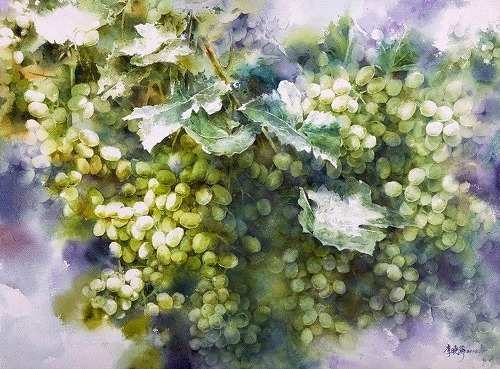 Hsiao Lin Lee watercolor