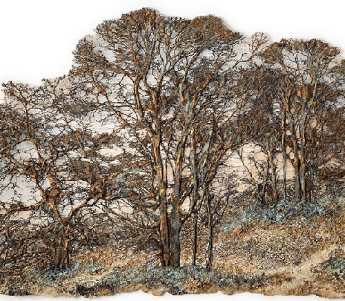 Lesley Richmond Textile Trees