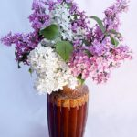 Lilac Bouquet. Cold porcelain and Polymer clay Art by Moscow based jeweler and florist Natalia Nevrova