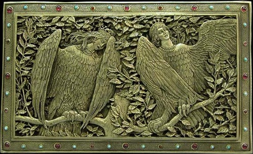 Sirin and Alkonost - mythological birds of Slavic folklore