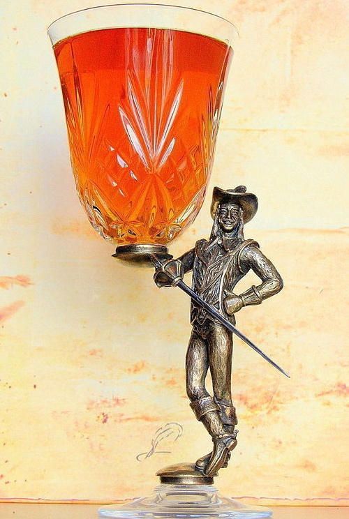 Wine glass 'D'Artagnan'